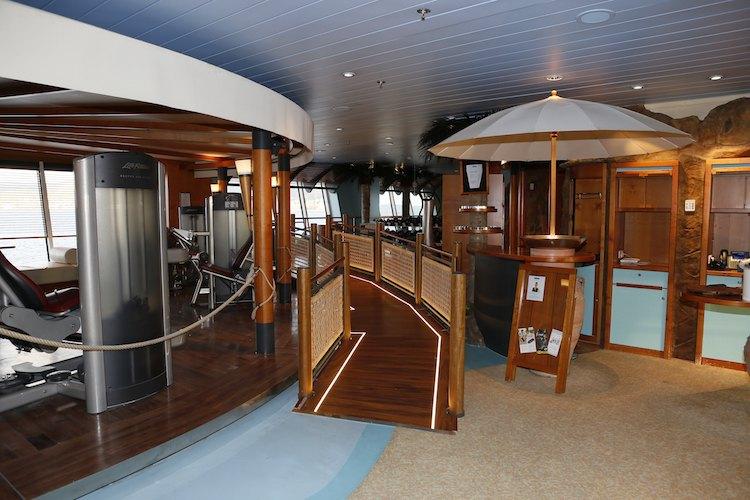 AIDAvita Sportbereich / © AIDA Cruises