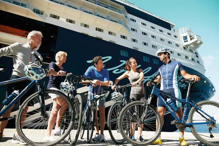 Aktiv unterwegs mit Mein Schiff / © TUI Cruises