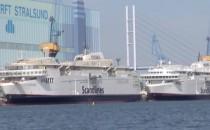 """Scandlines verkleinert die Fähre """"Copenhagen"""" und """"Berlin"""" auf der Fayard Werft in Dänemark"""