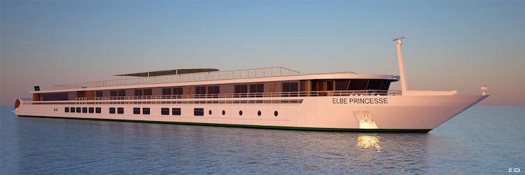 Schaufelrad-Flusskreuzer: MS Elbe Princess ab Frühjahr 2016 unterwegs / © Croisi Europe