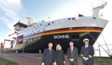 Forschungsschiff Sonne offiziell von der Meyer Werft übergeben