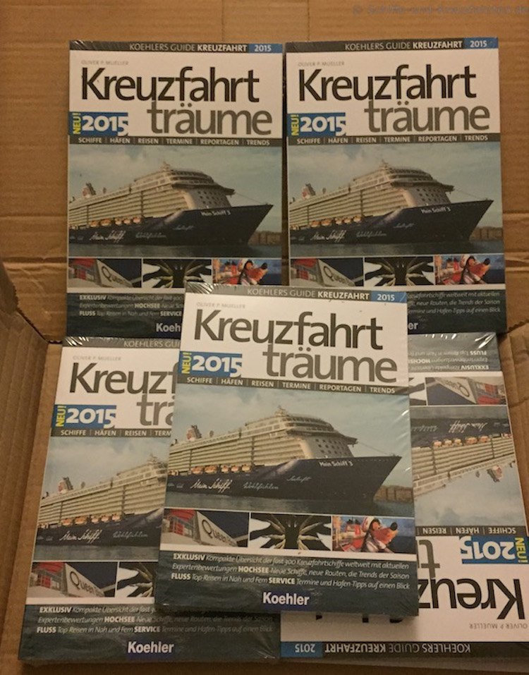 Kreuzfahrt-Bücher auf einen Blick: Buch-Tipps und mehr!
