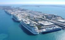 52.000 Kreuzfahrer auf einen Schlag im Hafen von Miami