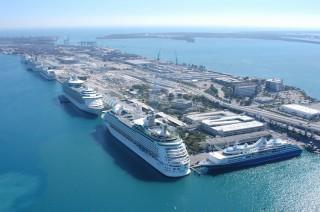 Kreuzfahrthafen von Miami / © GMCVB