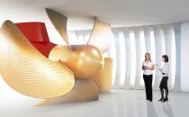 Video: Letzer Feinschliff im Besucherzentrum der Meyer Werft