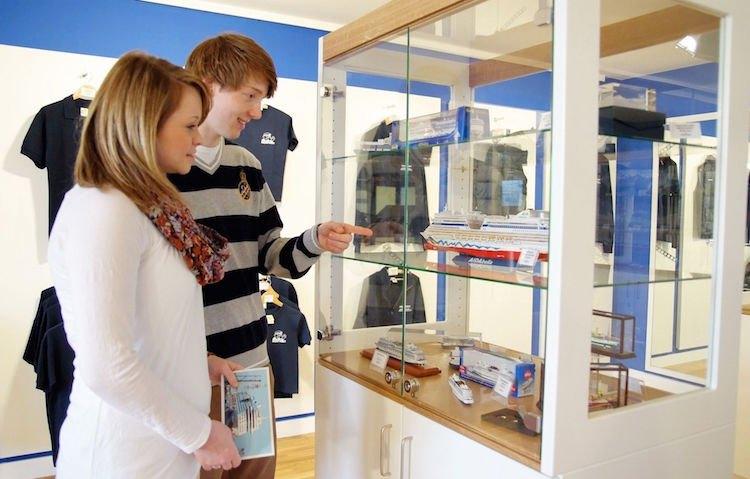 Meyer Werft Besucherzentrum nach Schiffsmodelle / © Meyer Werft