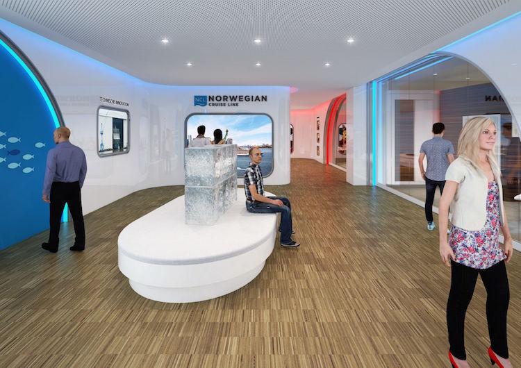 Meyer Werft Besucherzentrum nach Umbau / © Meyer Werft