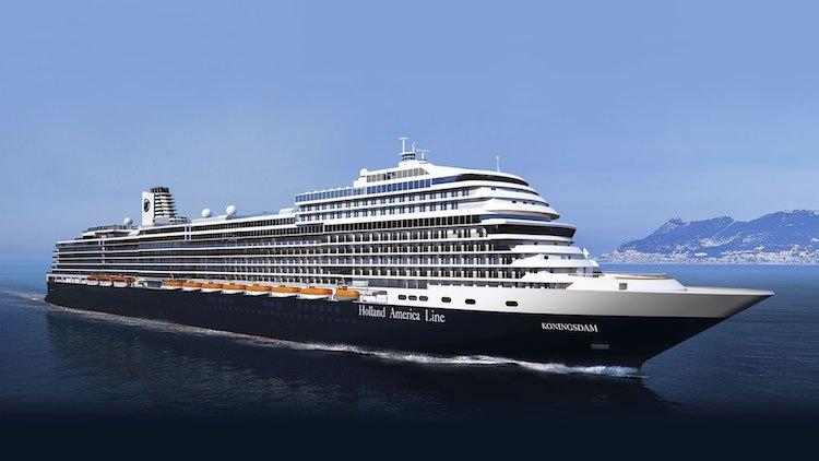 Emil de Vries steuert als Kapitän die neue MS Koningsdam / © Holland America Line