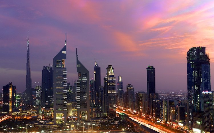 Sheikh Zayed Road in Dubai