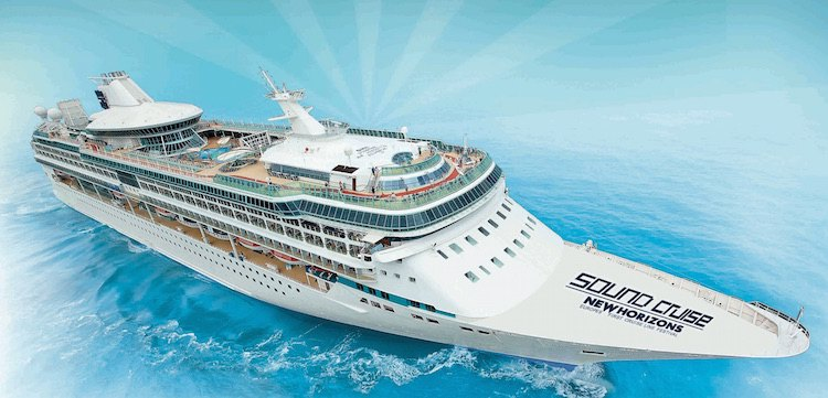 Sound Cruise 2015: Partykreuzfahrt auf der Splendour of the Seas von Royal Caribbean / © Splashline