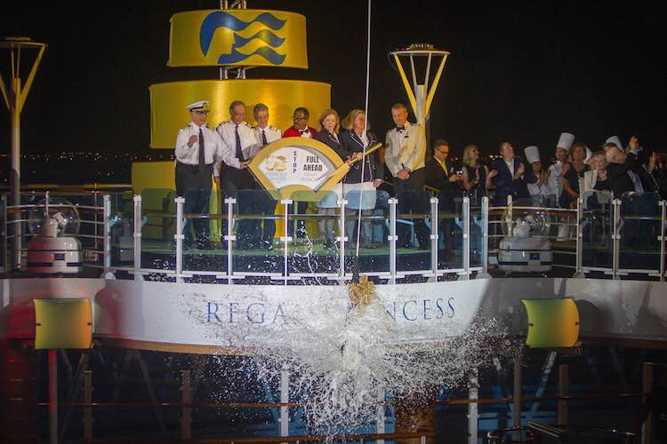 Taufe der Regal Princess durch die Love Boat Crew / © Princess Cruises
