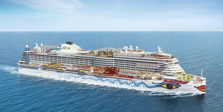 Wieder Feuer auf Deck 7 der AIDaprima / © AIDA Cruises