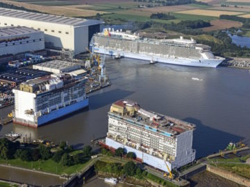 Meyer Werft in Papenburg / © Meyer Werft