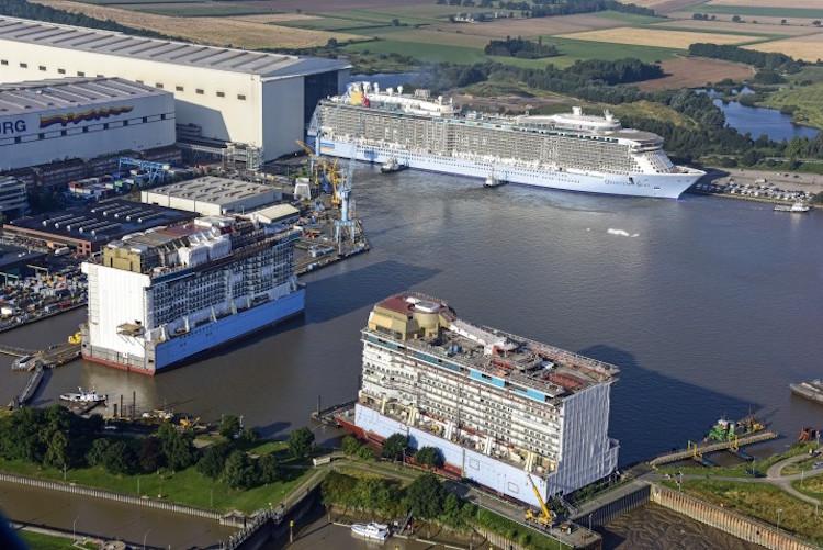 Meyer Werft bleibt durch Standortsicherungsvertrag bis Ende 2030 in Papenburg / © Meyer Werft