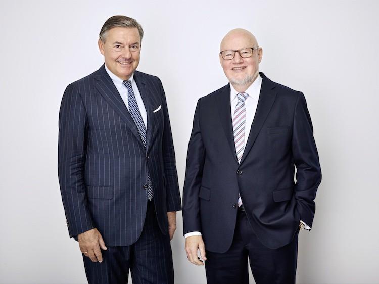 Alfred Hartmann (rechts) und Michael Behrendt (Foto: VDR/Frank Krems)