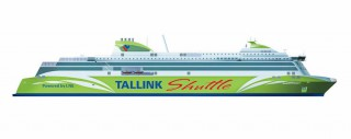 So soll der Tallink Neubau von der Meyer Turku OY Werft aussehen / © Tallink Silja