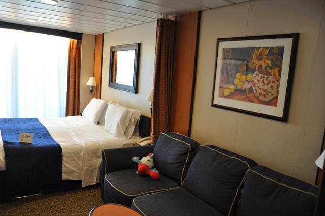 Superior Balkonkabine 9078 / Kategorie D2 auf der Brilliance of the Seas