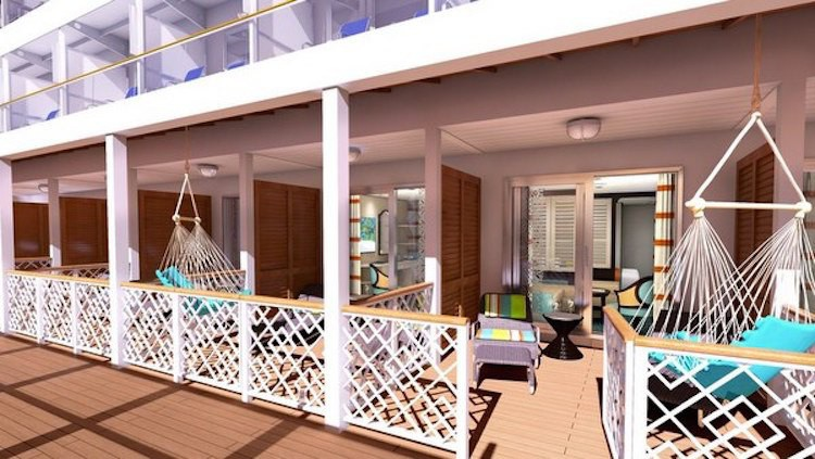 Veranda-Kabinen Carnival Vista / © Carnival Cruise Line
