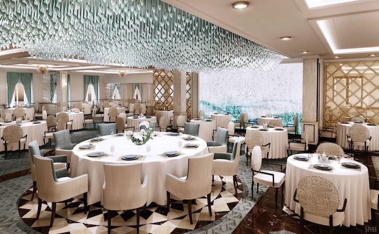 Compass Rose Restaurant auf Seven Seas Explorer / © Regent Seven Seas