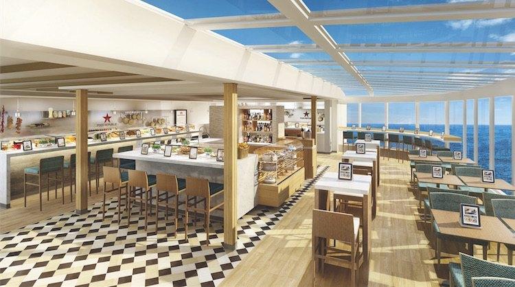 Food Republic auf Norwegian Escape / © Norwegian Cruise Line
