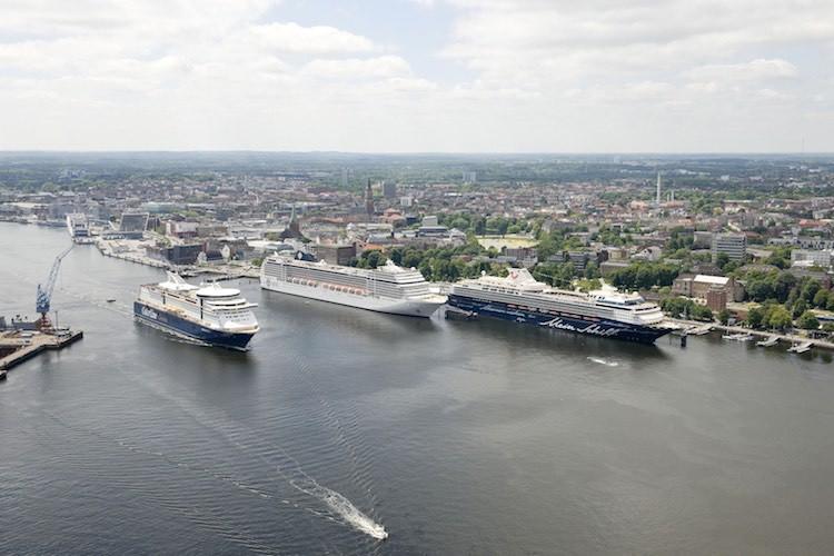 Beispielbild Kieler Hafen / © Peter Luehr (Seehafen Kiel)