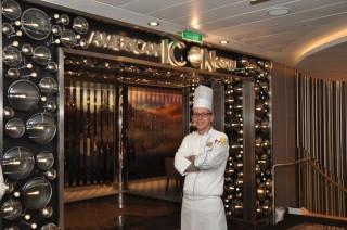 Koch von der Quantum of the Seas / © Royal Caribbean