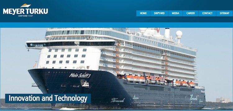 Meyer Turku OY Werft (ex STX Werft Turku) / © Meyer Werft