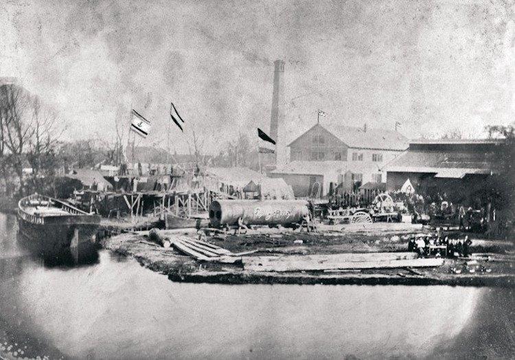 220 Jahre alt wurde die Meyer Werft in Papenburg / © Meyer Werft