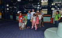 Spende an brasilianisches Kinderheim von der MS Hamburg