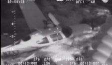 Video: Flugzeugpilot von der MS Veendam aus dem Meer gefischt