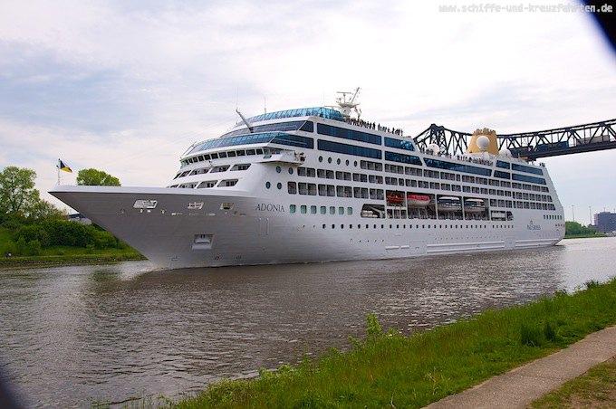 P&O Adonia wechselt als Azamara Pursuit zu Azamara Club Cruises
