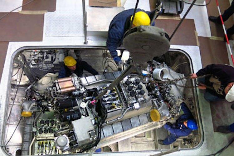Die Motoren werden in den SK35 eingesetzt / © DGzRS