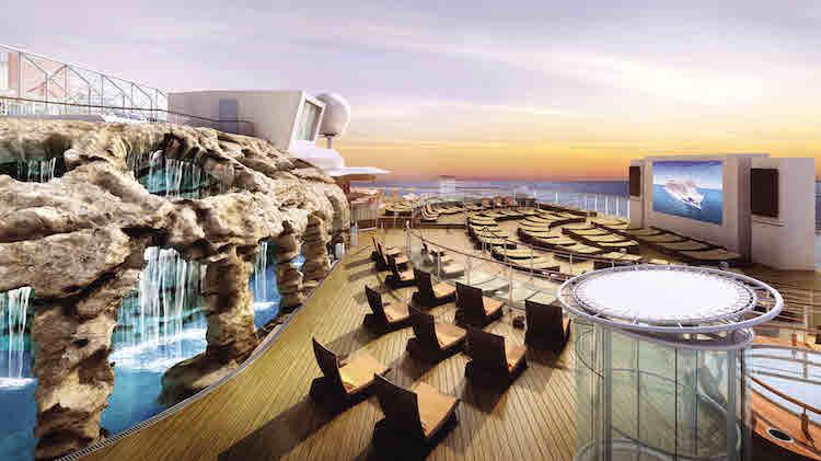 Spice H2O Erwachsenenbereich - Norwegian Escape / © Norwegian Cruise Line