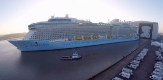 Anthem of the Seas vor der Meyer Werft / © Nils Kallmeyer
