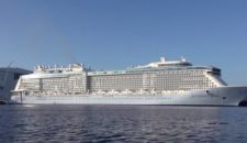 Video: Wendemanöver Anthem of the Seas bei der Meyer Werft