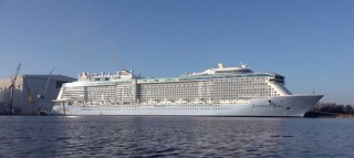 Anthem of the Seas wird am 20.April 2015 in Southampton getauft / © Inselvideo