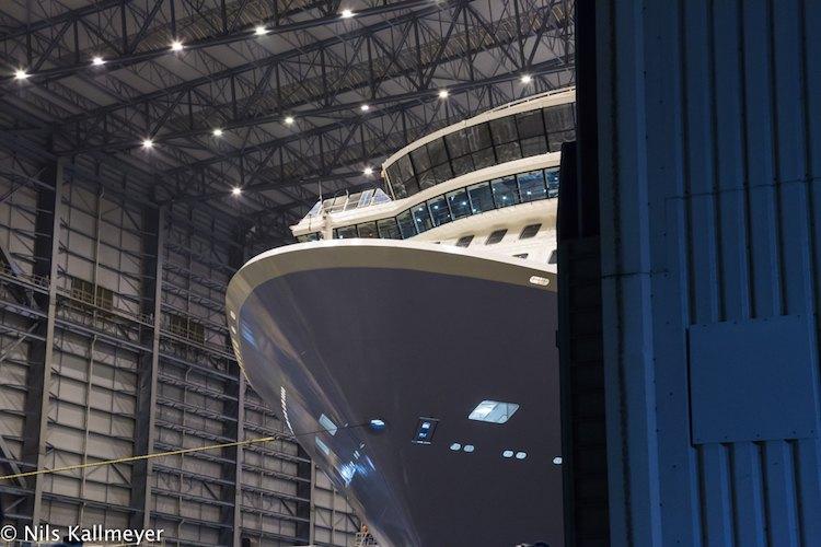 Anthem of the Seas wurde ausgedockt / © Nils Kallmeyer