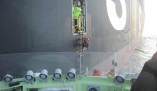DGzRS rettet Seemann von MSC Katie