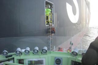 DGzRS rettet Seemann von der MSC Catie / © DGzRS