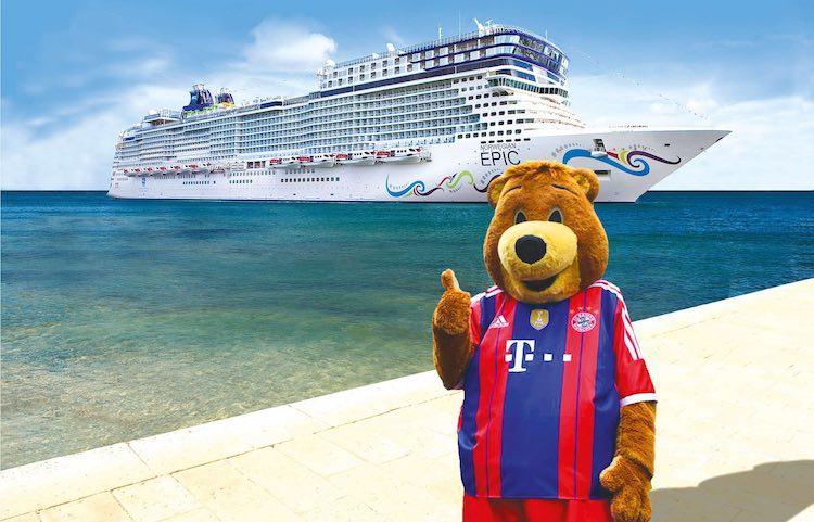 FC Bayern Fussball-Kreuzfahrten mit Kids / © Seaside GmbH