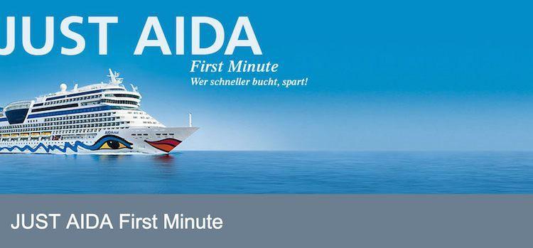 Neue Just AIDA First Minute Angebote / © AIDA Cruises
