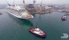 Viking Star Sea Trials / © Video Viking Ocean Cruises