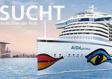 AIDA Katalogstart 2016/2017 / AIDA Kreuzfahrten
