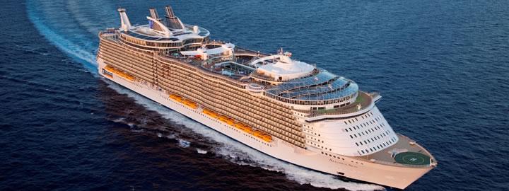 Allure of the Seas © Royal Caribbean