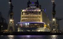 Video: Erstanlauf der Anthem of the Seas in Hamburg