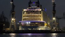 Video: Erstanlauf der Anthem of the Seas in Hamburg