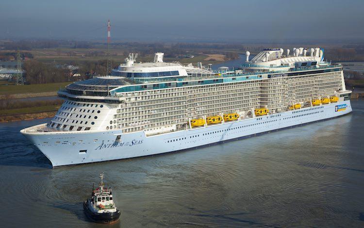Anthem of the Seas Emsüberführung / © Meyer Werft