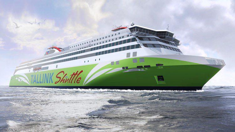Meyer Turku baut neue LNG Fähren für Tallink Silja / © Tallink