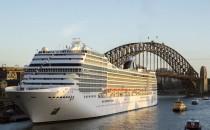 Erstanlauf in Sydney: MSC Orchestra in Australien