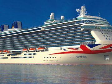 P&O Brittania / © P&O Cruises